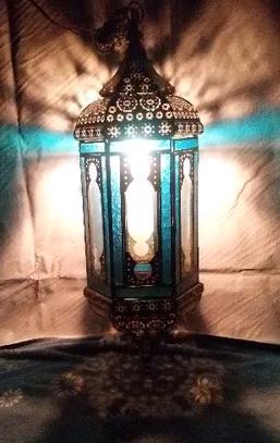 Metal Moroccan Lantern in  Bangla Gaon
