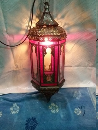 Moroccan Lantern Lamp in  Bangla Gaon