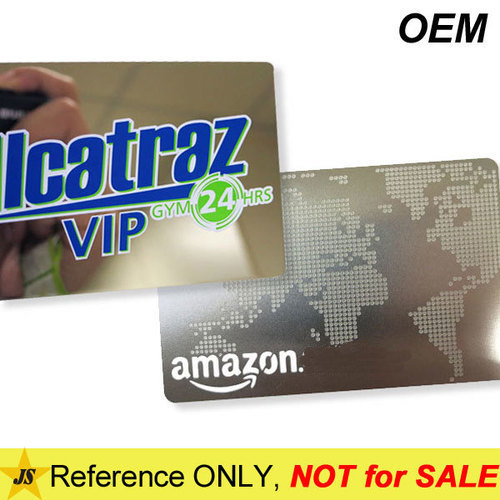 Custom Engraved Metal Business Cards