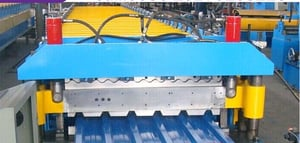 Fully Automatic Roof Panel Roll Forming Machine