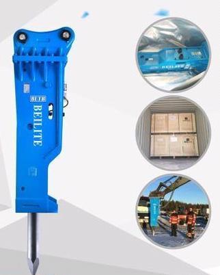 7 To14 Ton Mini Wheel Excavator Hydraulic Hammer Breaker in Zhejiang