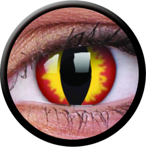 Dragon Eyes Crazy 14mm Contact Lens in   New Perungalathur