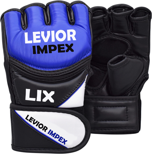 Leather Grappling Fight Boxing Mma Gloves