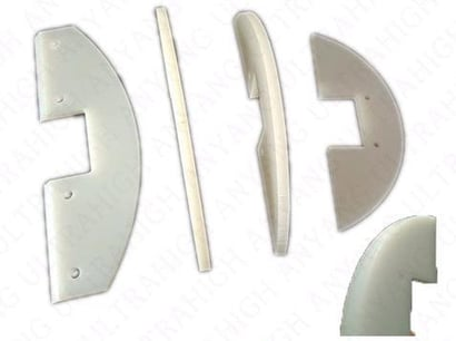 Wear Resistant And Self-Lubricating Uhmw Drag Conveyor Flights Plastic Flight For Chain Certifications: Iso 9001