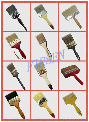 All Kinds Of Paint Brushes In Anqing Anhui Province Anhui Shansen