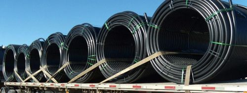 Hdpe Black Roll Pipe Conforming Isi