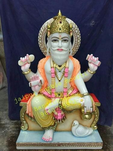 Lord Brahma Marble Statues