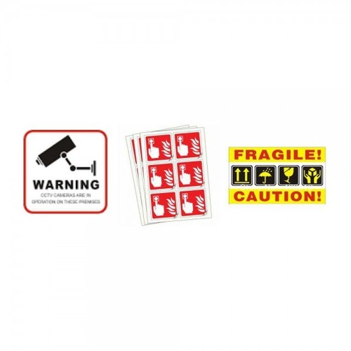 Public Information Stickers