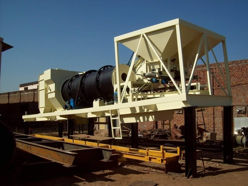 Mobile Automatic Drum Mix Asphalt Plant