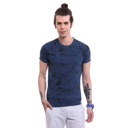 Mens Branded Printed T Shirt