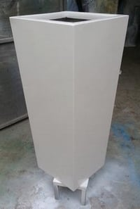 Square Tall Flower Pot