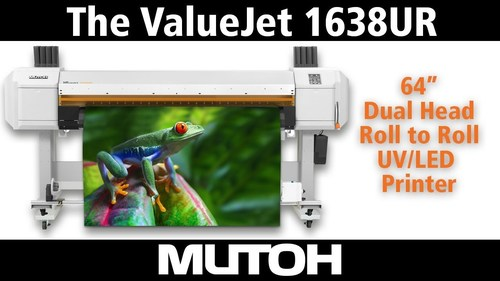 Mutoh Valuejet 1638UR UV Printer