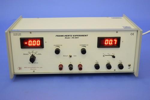 Franck Hertz Experiment, FH-3001