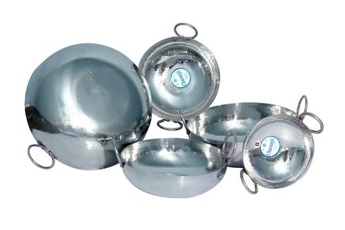 Utensil Sets Stainless Steel Mathaar Kadai