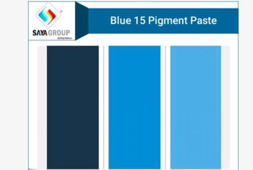 Pigment Paste Blue 15 in  Vatva