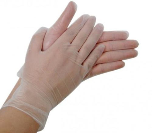 Surgical Exam Disposable Plastic Gloves