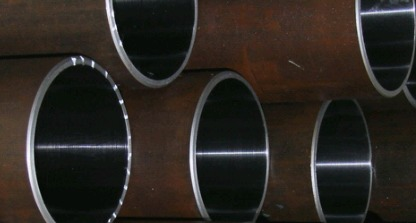 Iso H8 St52 Hydraulic Cylinder Honed Tube And Barrel