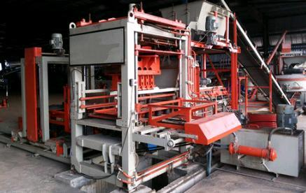 Automatic Concrete Block Plant in   Near Bypass Highway