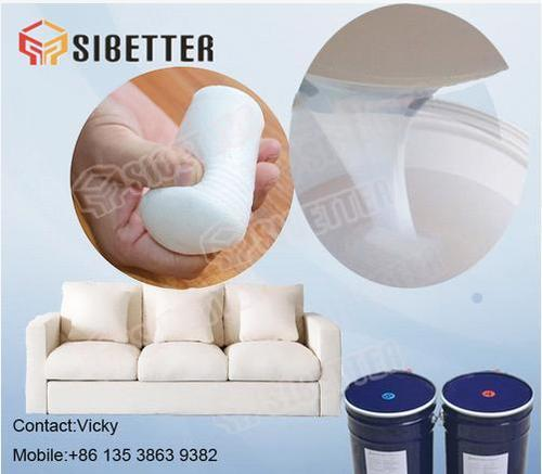 Skin Safe Liquid Foaming Silicone Rubber For Filling Sofa