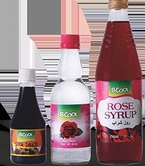 Colored Rose Syrup