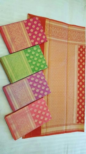 Cotton Silk Stylish Sarees