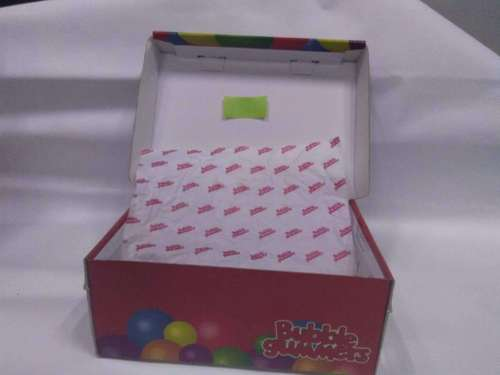 Cardboard And Corrugated Children Shoes Paper Packaging Box