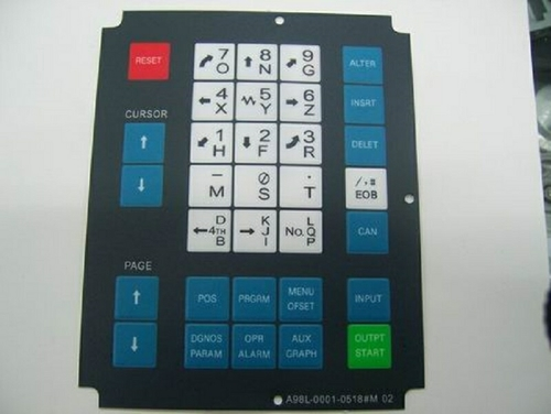 Fanuc keypad