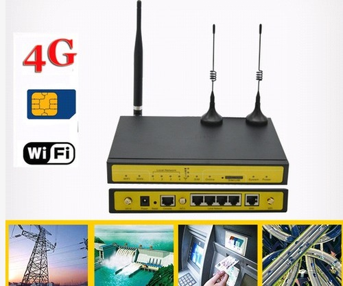 Industrial 4G lte Wireless Cellular CCTV Router