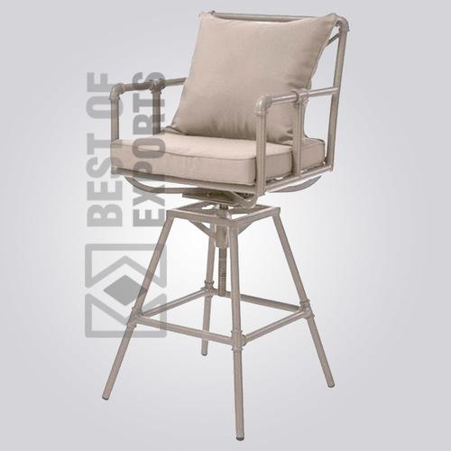 Industrial Pipe Bar Chair