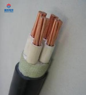 Fire-Resistant With PVC Insulation Power Cable