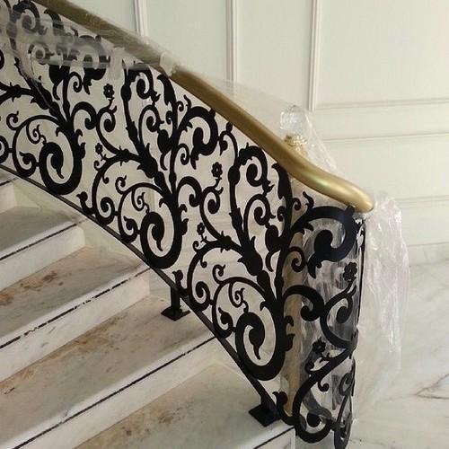 Cnc Metal Cutting Stair Railing