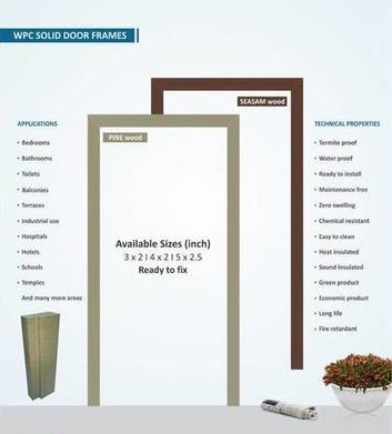 Wpc Solid Door Frames