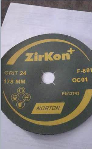 Zirkon Abrasive Wheels