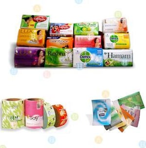 Printed Coated Paper Wrappers for Soap