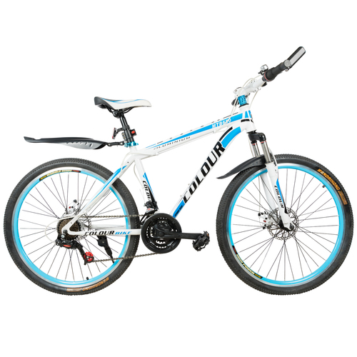 COLOUR 650 Mountain Bicycle With High Carbon Steel Frame And 26 ...