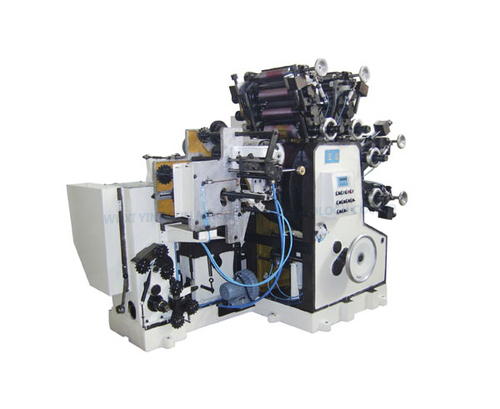 Jrs01 4-Color Printing Machine