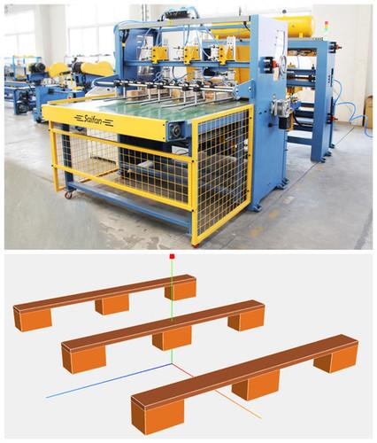 Block Wood Pallet Nailing Machine at Price 26000 USD ($)/Set