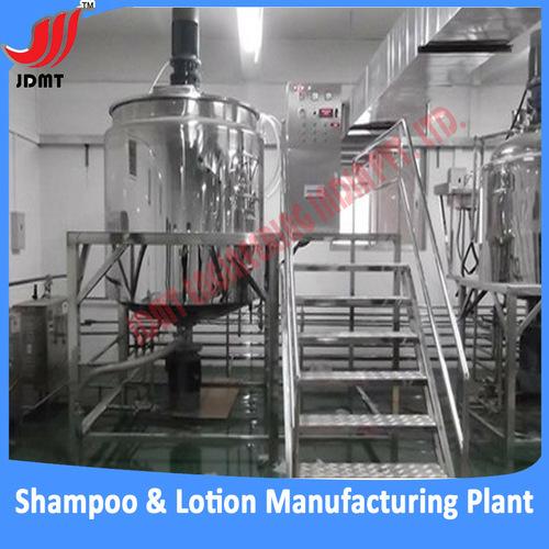 Shampoo Manufacturing Machines