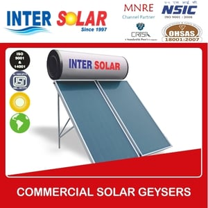 Commercial Solar Water Geysers