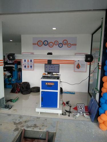Advanced Wheel Aligner Machine
