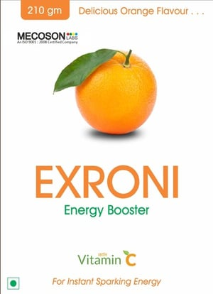 EXRONI Energy Drink With Vitamin C