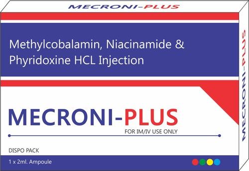 Methylcobalamine Niacinamide And Pyridoxine Hcl Injection