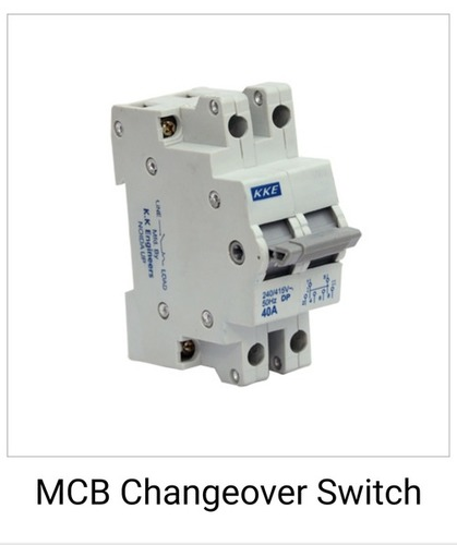 Electric Mcb Changeover Switch
