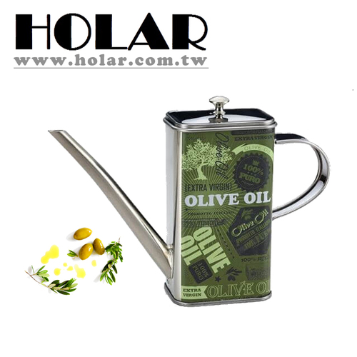 Stainless Steel Olive Oil Dispenser Oil Can For Kitchen