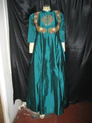 Party Wear Green Gown Sweety 43 3rd Floor Burtolla Street