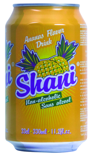 Shani Pineapple Flavour Carbonated Drink in   Modulos 7 Y 8