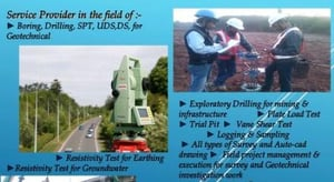 Land Survey and Geotechnical Investigation Services