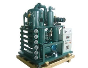 ZYD Double Stage Used Transformer Oil Filtration Machine