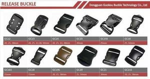 Strong Plastic Safety Seat Strap Belt Buckle