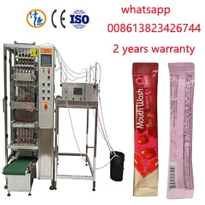 Automatic Stick Pillow Jelly Pouch Packing Machine